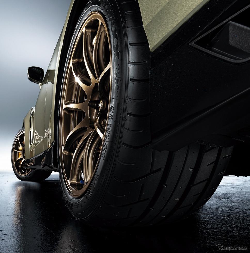 日産 GT-R 2022年モデル ホイール・タイヤ イメージ《写真提供 日産自動車》