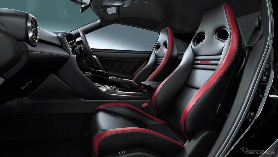 日産 GT-R ブラックエディション(内装色:ブラック)《写真提供 日産自動車》