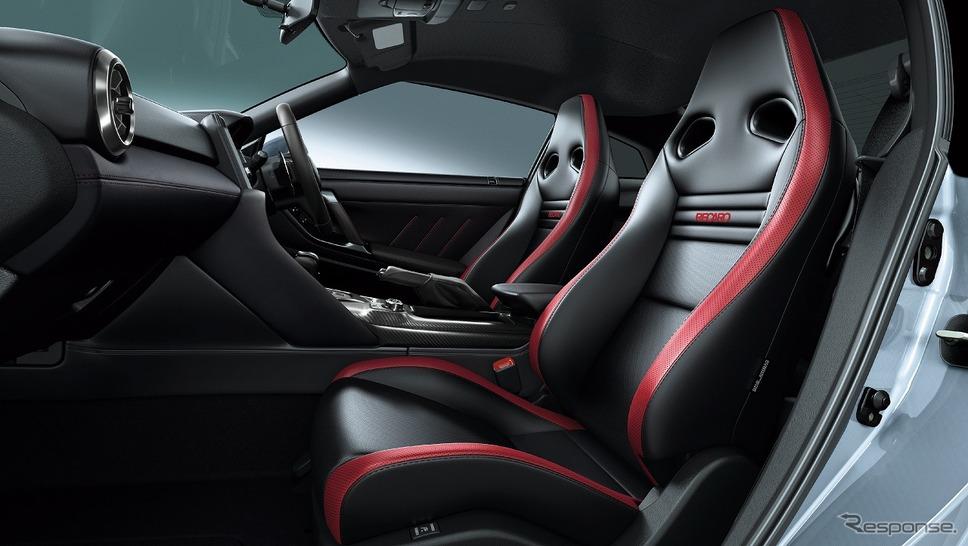 日産 GT-R トラックエディション エンジニアード by NISMO(内装色:ブラック)《写真提供 日産自動車》
