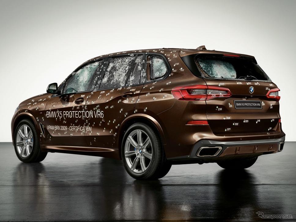 参考:BMW X5プロテクションVR6《photo by BMW》