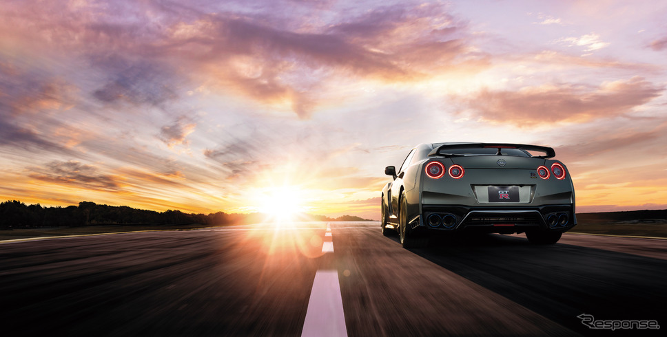 GT-R 2022年モデル《写真提供 日産自動車》