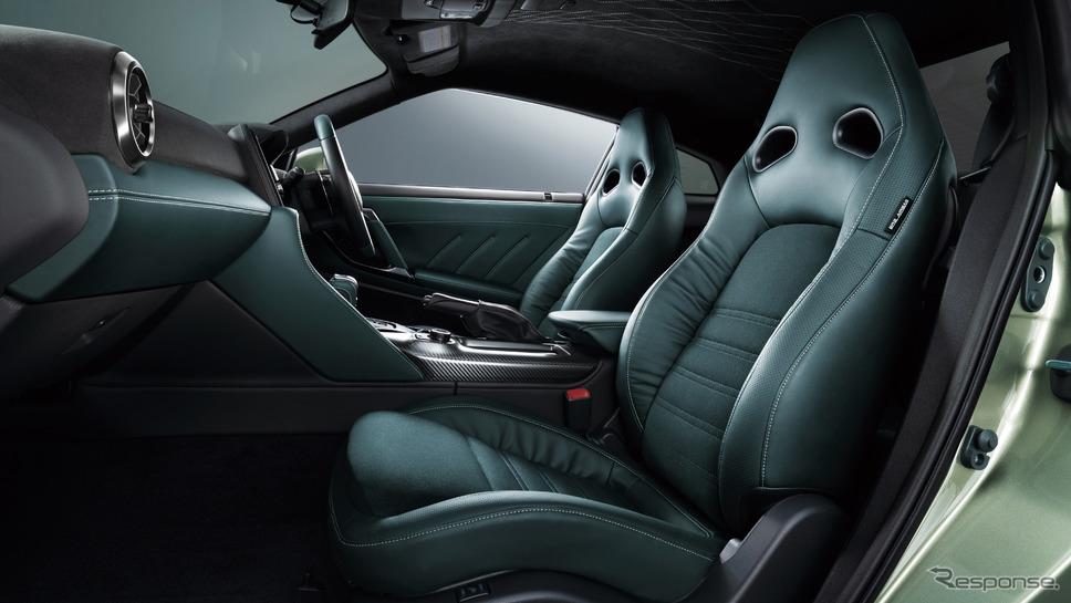 Premium edition T-spec専用内装色《写真提供 日産自動車》