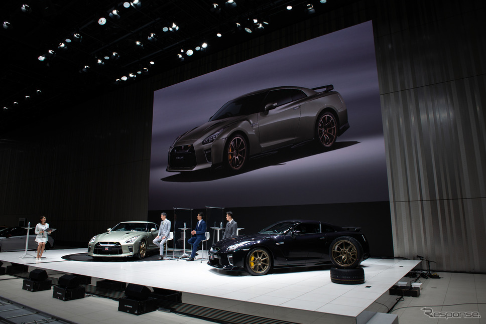 「NISSAN GT-R」2022年モデルを発表《写真提供 日産自動車》