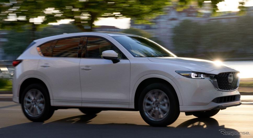 マツダ CX-5 改良新型(米国仕様)《photo by Mazda》