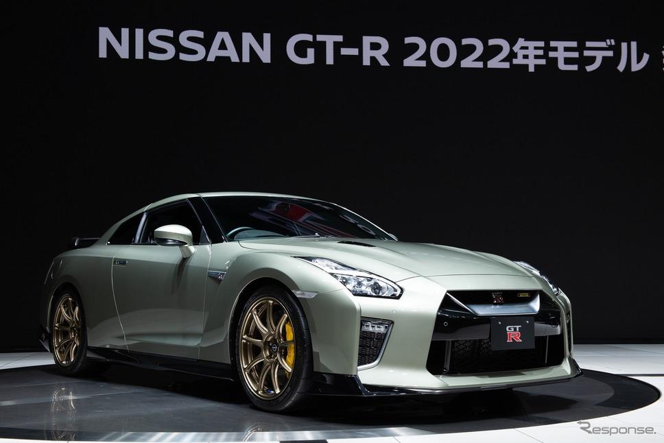日産 GTR T-spec(ミレニアムジェイド)《日産自動車提供》