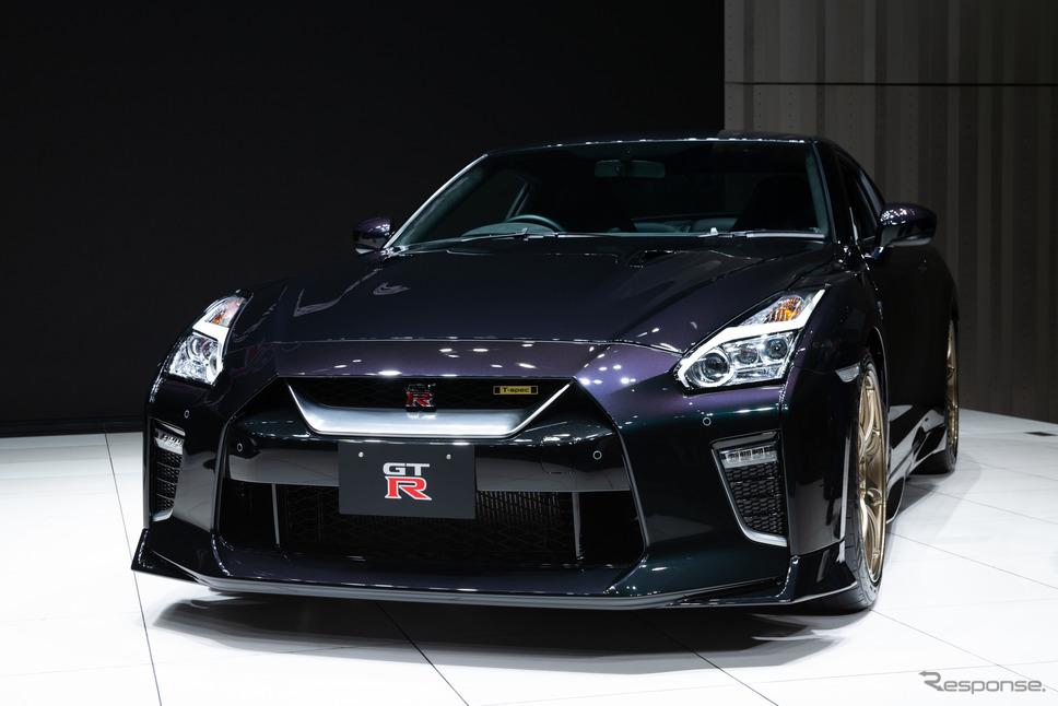 日産 GTR T-spec(ミッドナイトパープル)《日産自動車提供》