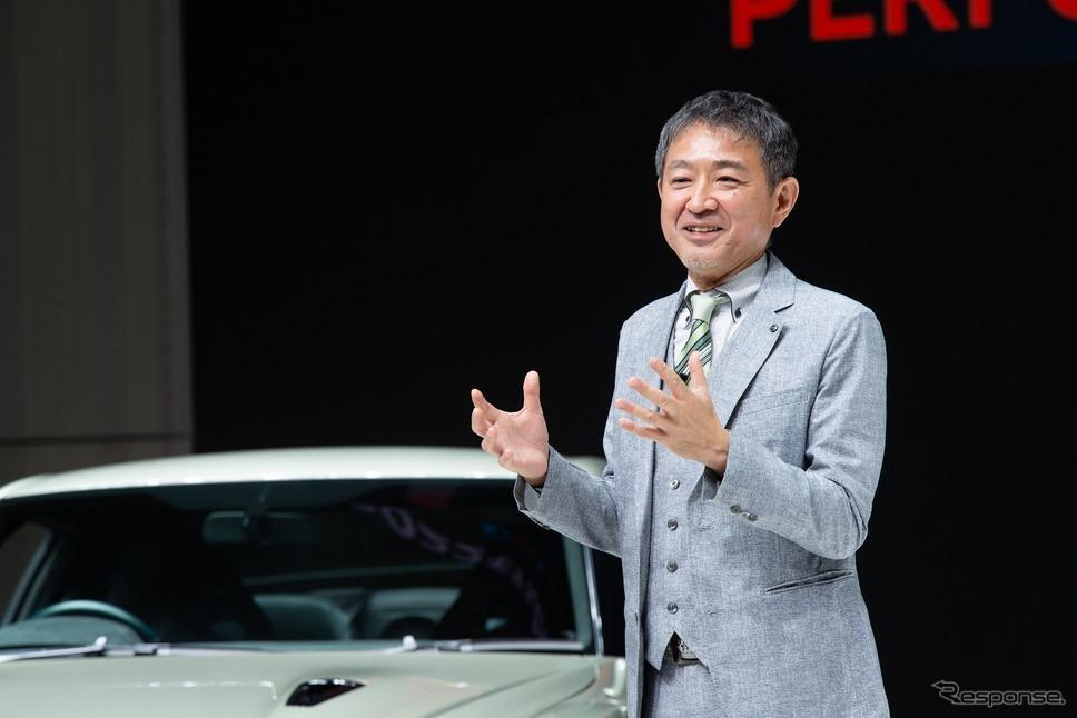 日産商品企画本部 チーフ・プロダクト・スペシャリストの田村宏志氏《日産自動車提供》