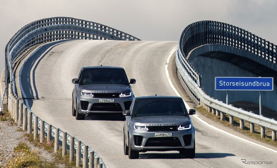 映画『007/ノー・タイム・トゥ・ダイ』に起用されるランドローバー・レンジローバー・スポーツ SVR《photo by Land Rover》