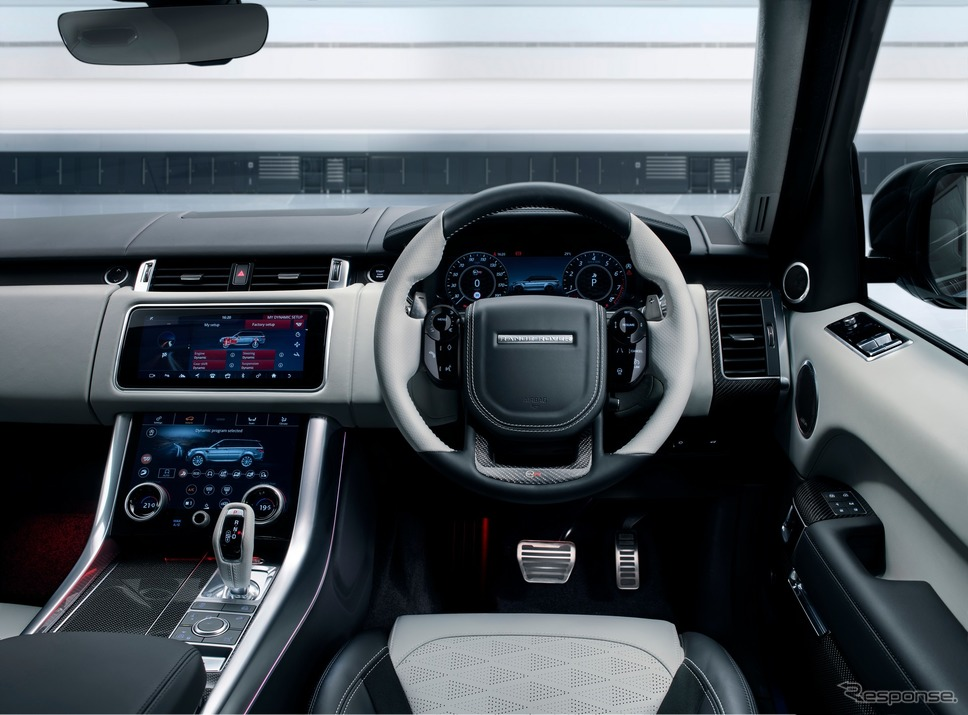 ランドローバー・レンジローバー・スポーツ SVR《photo by Land Rover》