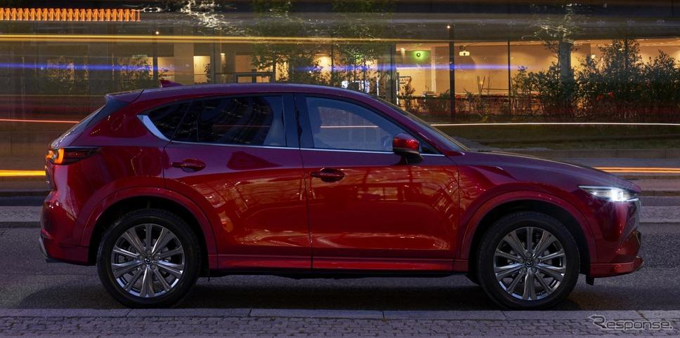 マツダ CX-5 改良新型(欧州仕様)《photo by Mazda》