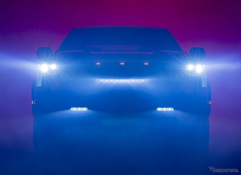 トヨタ・タンドラ 新型のティザーイメージ《photo by Toyota》