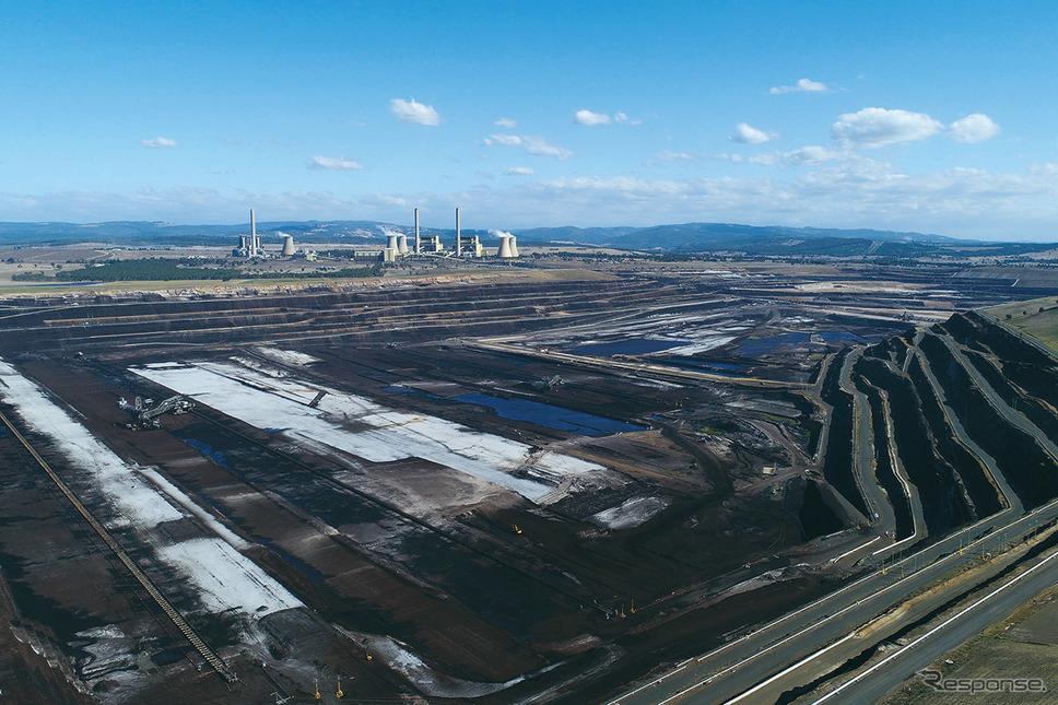 オーストラリア、褐炭水素精製所《写真提供 川崎重工》