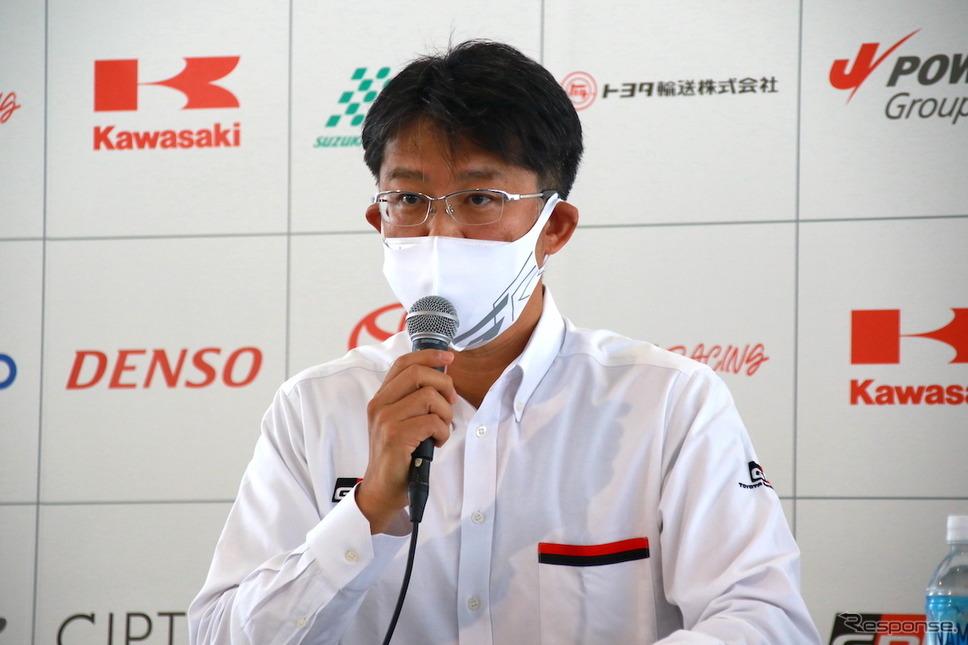 佐藤恒治GAZOO Racing Company President《写真撮影 藤木充啓》