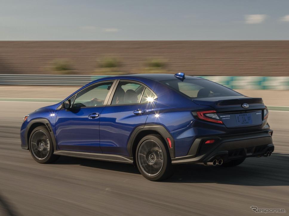 2代目スバルWRX、米国仕様2022年型《photo by Subaru》