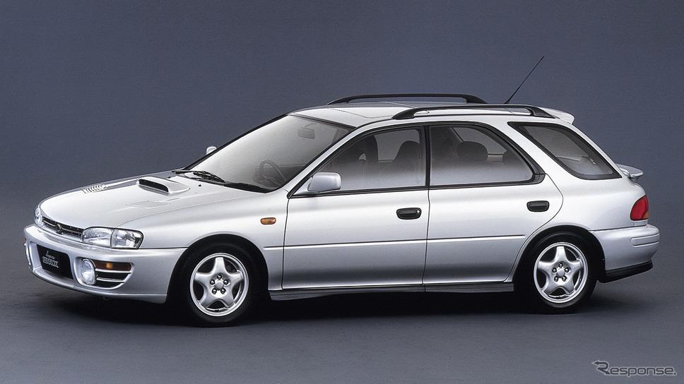 1993年スバル・インプレッサ・スポーツワゴンWRX《写真提供 SUBARU》