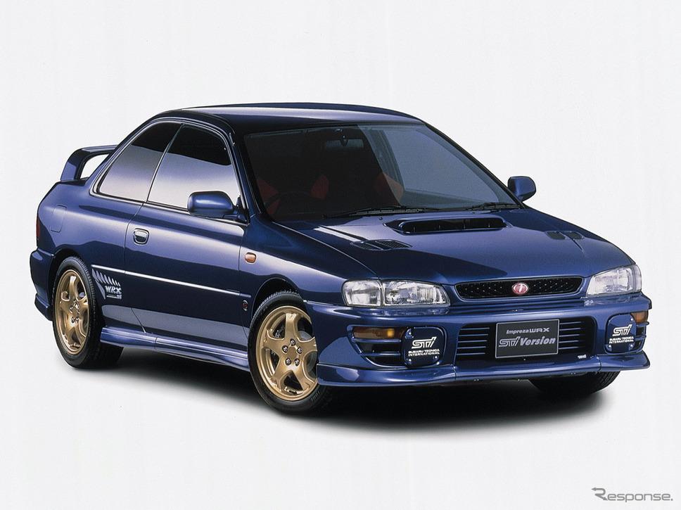 1997年スバル・インプレッサ・クーペWRX type R STi Ver. IV《写真提供 SUBARU》