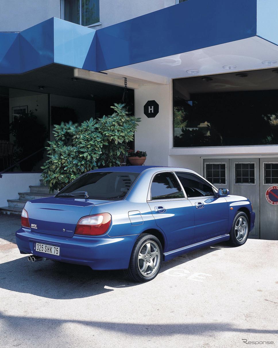 2000年スバル・インプレッサWRX《写真提供 SUBARU》