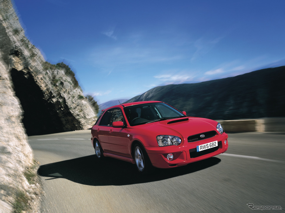 2002年スバル・インプレッサ・スポーツワゴンWRX《写真提供 SUBARU》