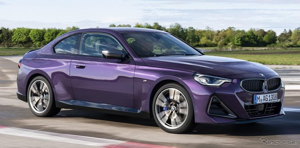 BMW 2シリーズ・クーペ 新型の「M240i xDrive」《photo by BMW》