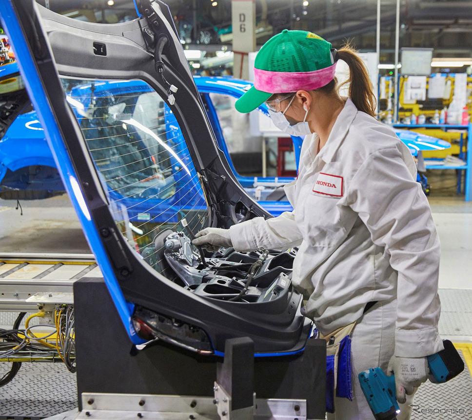ホンダ・シビック・ハッチバック 新型(米国仕様)《photo by Honda》
