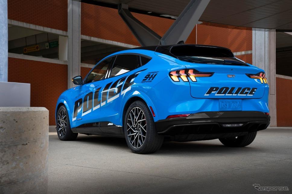 フォード・マスタング・マッハE をベースにした警察車両のプロトタイプ《photo by Ford》