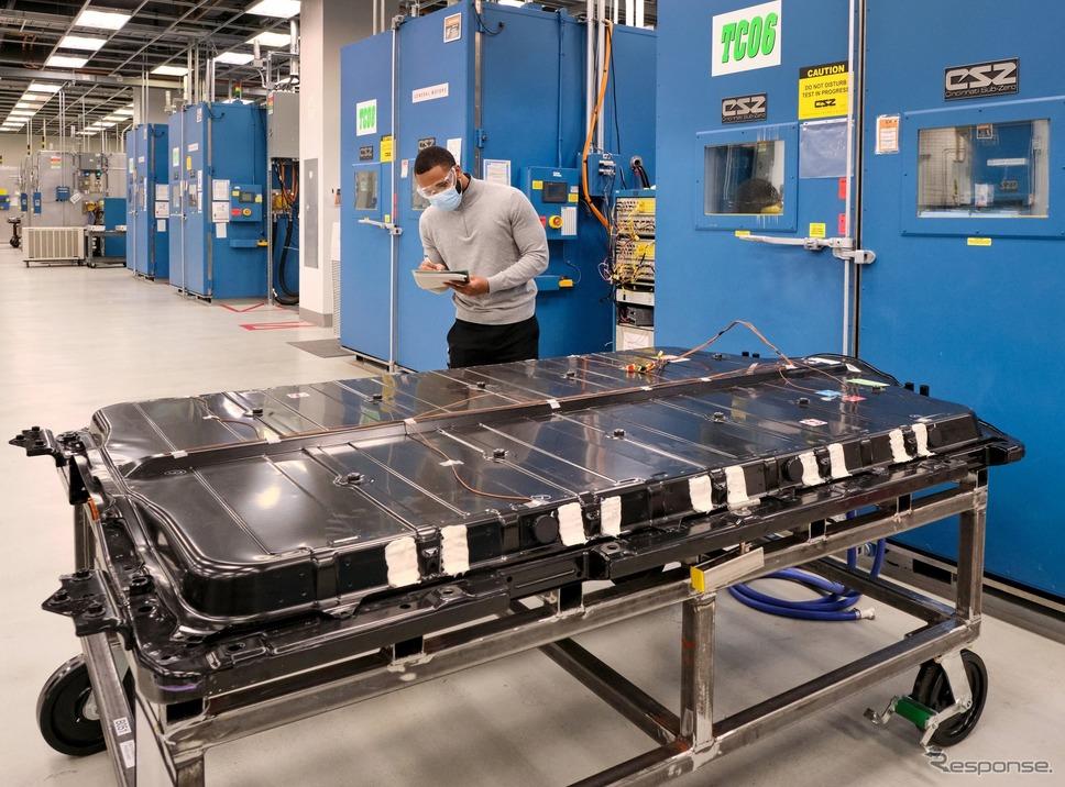 GMの次世代EV向け「アルティウム」バッテリー《photo by GM》