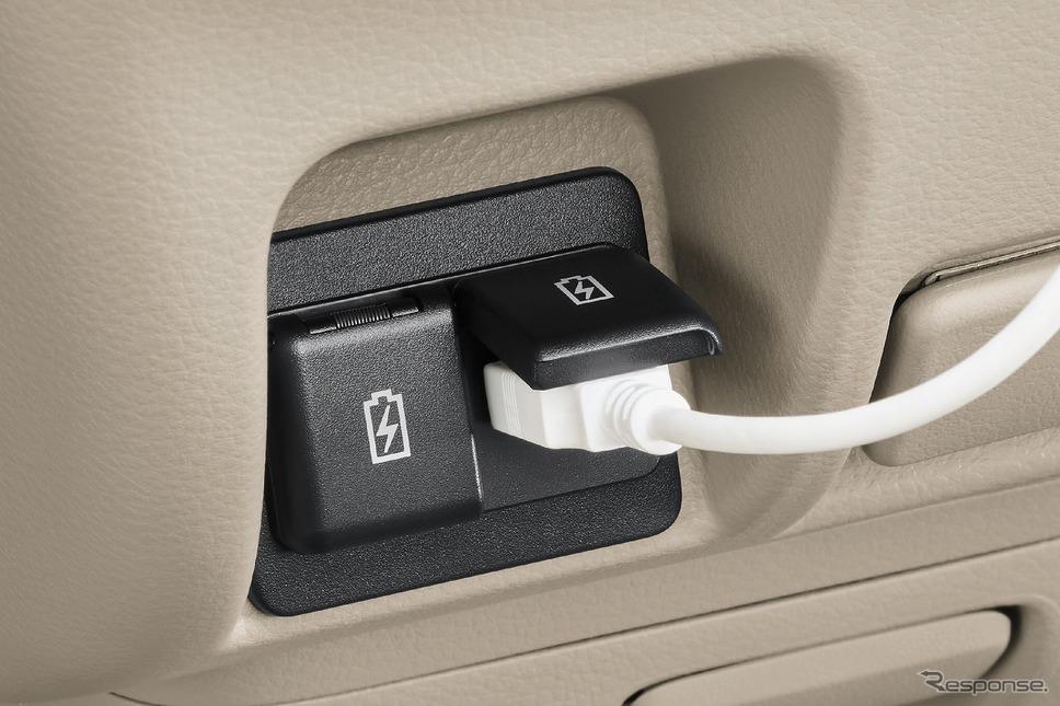 日産 NV100クリッパー リオ USB電源ソケット《写真提供 日産自動車》