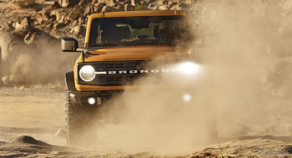 フォードモーターのフォード・ブロンコ 新型(参考)《photo by Ford Motor》