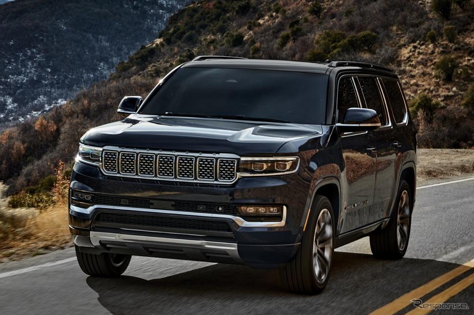 ジープ・グランドワゴニア 新型《photo by Jeep》