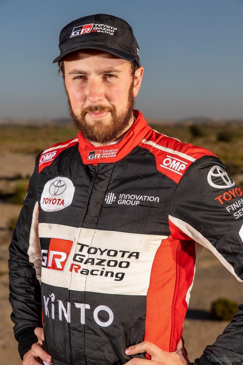 ヘンク・ラテガン《写真提供 TOYOTA GAZOO Racing》