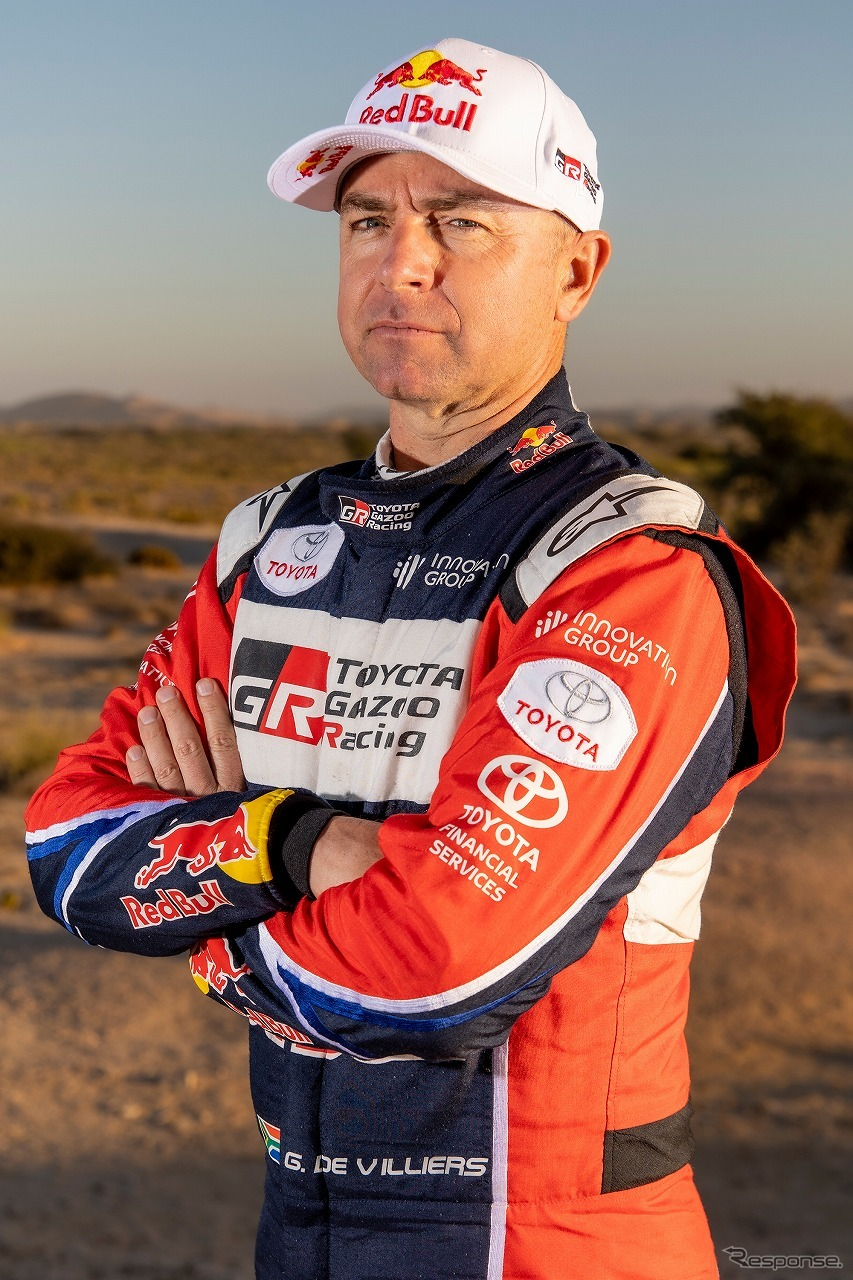 ジニエル・ド・ヴィリエール《写真提供 TOYOTA GAZOO Racing》