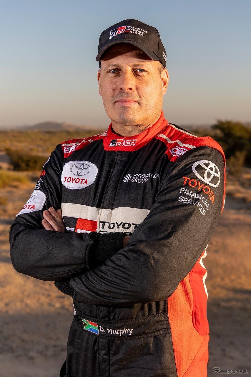 デニス・マーフィ《写真提供 TOYOTA GAZOO Racing》