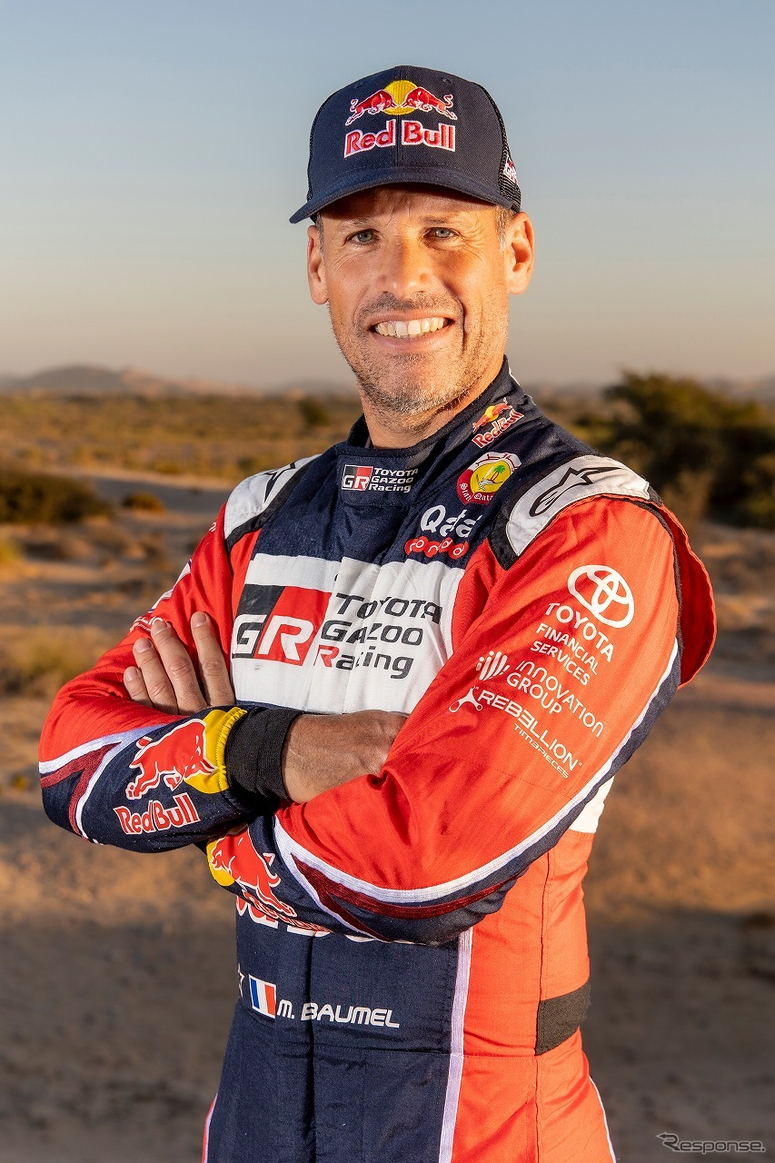 マシュー・ボーメル《写真提供 TOYOTA GAZOO Racing》