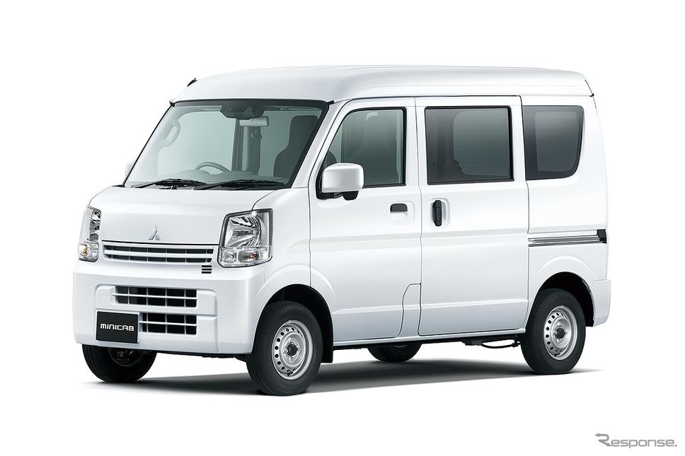 三菱 ミニキャブバン「G」《写真提供 三菱自動車》
