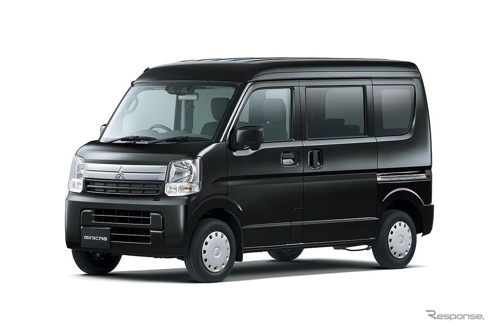 三菱 ミニキャブバン「ブラボーターボ」《写真提供 三菱自動車》