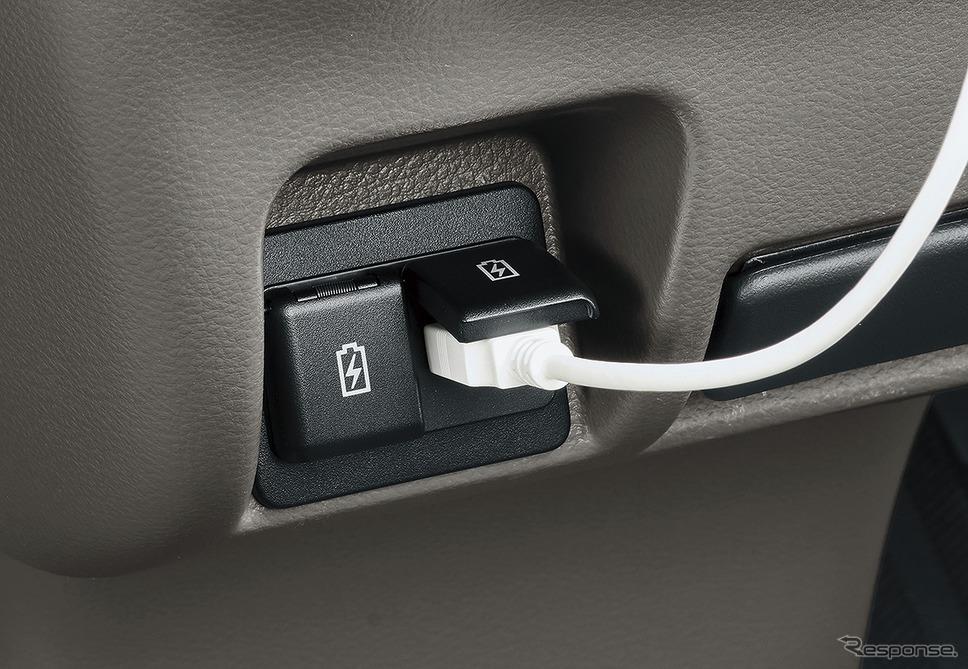 三菱 ミニキャブバン「USB 電源ソケット」《写真提供 三菱自動車》