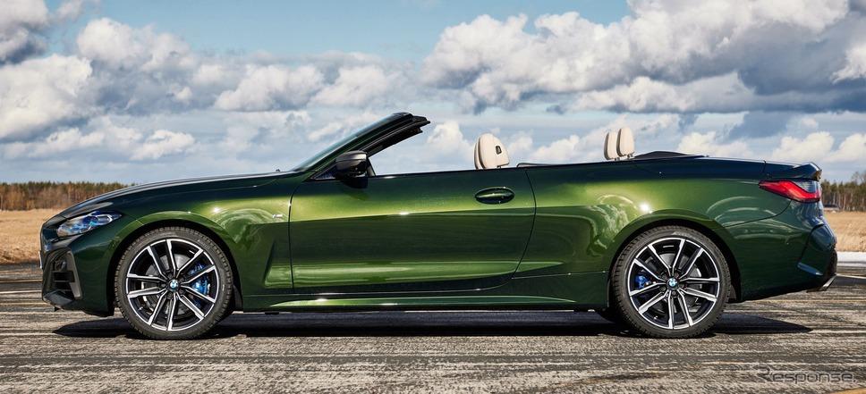 BMW 4シリーズ・カブリオレ《photo by BMW》