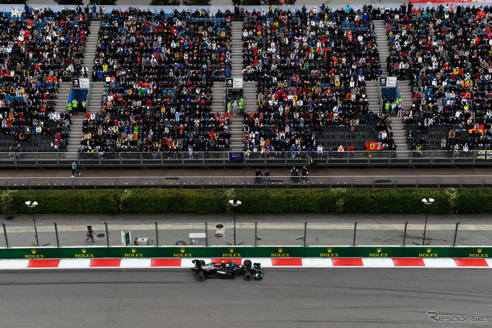 F1ロシアGP《Photo by Rudy Carezzevoli/Getty Images Sport/ゲッティイメージズ》